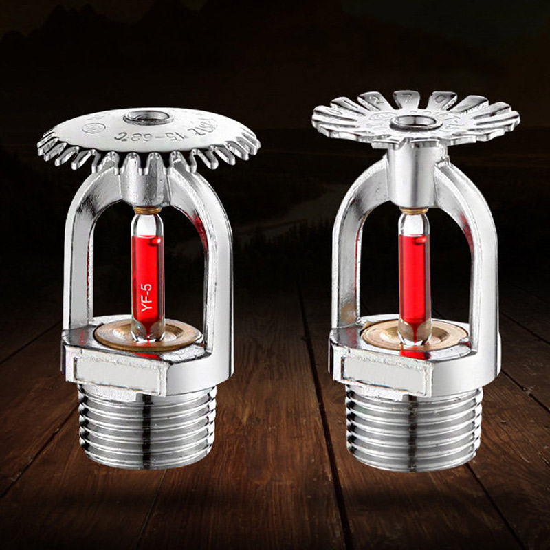 5Pcs Fire Sprinkler Head DN15/68 Degree Fire Extinguishing System Protection Equipment Spray Sprinkler
