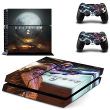 Game Destiny 2 PS4 Skin Sticker Decal Vinyl for Sony Playstation 4 Console and 2 Controllers PS4 Skin Sticker