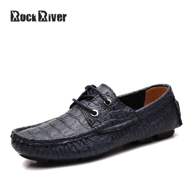 Plus Size 36-50 Summer Handmade Crocodile Men Causal Shoes Genuine Leather Slip On Breathable Flat Driving Shoes High Quality pl us size 38 47 handmade genuine leather mens shoes casual men loafers fashion breathable driving shoes slip on moccasins