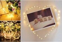 Fairy Lights Outdoor LED Garland on Batteries for Christmas Decoration Festoon Light Decor
