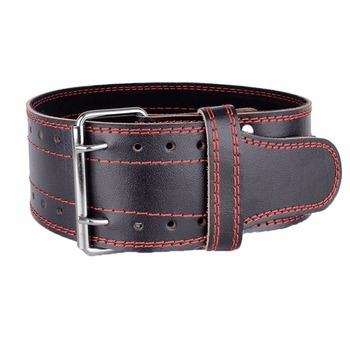 Genuine Leather Weight lifting Belt Gym Training Fitness Waist Back Support Squat Power Weightlifting Equipment for