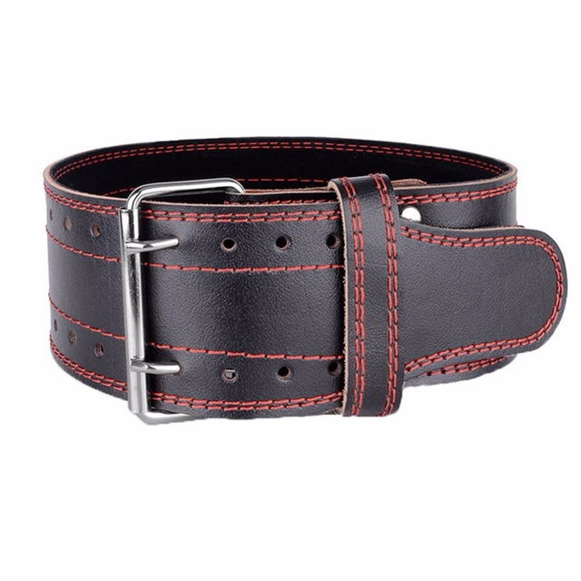 Genuine Leather Weight lifting Belt Gym Training Fitness Waist Back Support Squat Power Weightlifting Equipment for Men Women