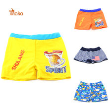 Imaka Children Clothing 2016 Brand baby swimwear kids sportswear boys printed swimming trunks swimsuit for boy sunga infantil