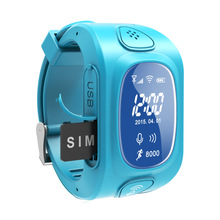 Kids GPS Smart Watch Y3 with GPS/GSM/ Triple Positioning GPRS Real-time Monitoring, Dual-way Call, SOS Kids GPS Smart Watch