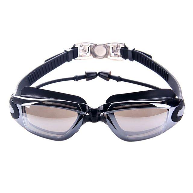 496ca082fa0 Men Women Silicone Waterproof Swimming Goggles Anti Fog Sports Swimming  Glasses High Quality