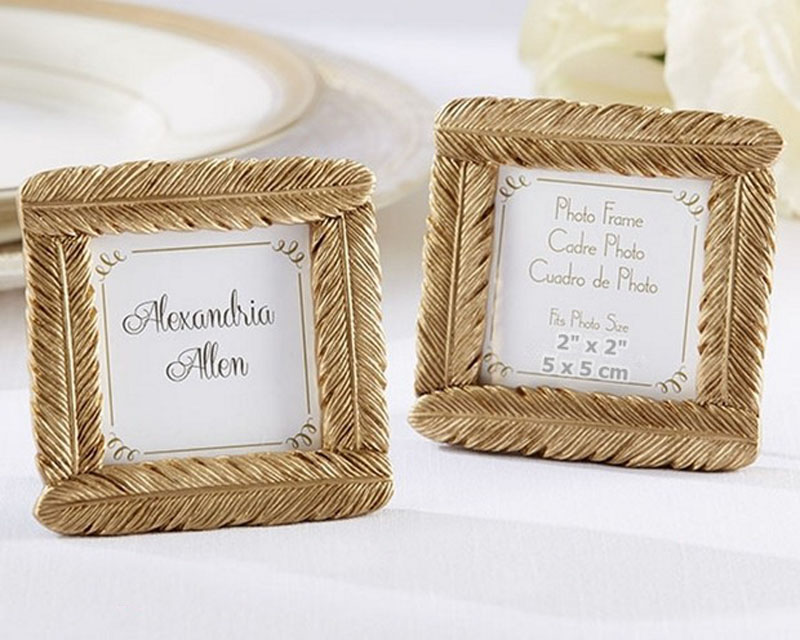 100pcs-Lot-High-Quality-Gold-Resin-Feather-Photo-Frame-Baby-Shower-Favors-Wedding-Party-Giveaway (2)