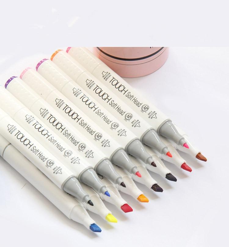 3pc Random Dual Head Artist Sketch Copic Markers Set For School Drawing Sketch