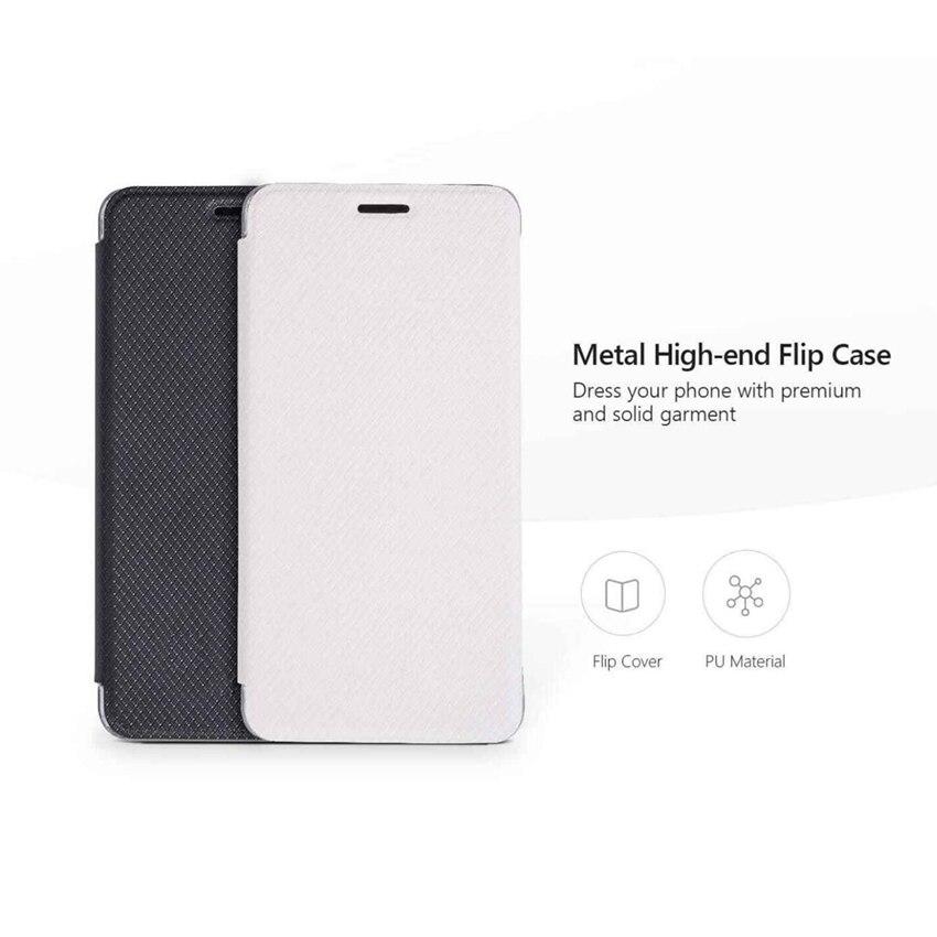 Hohe Qualität Pu-leder Flip Fall Für Ulefone Metall mit Ständer Halter Rückseite Original