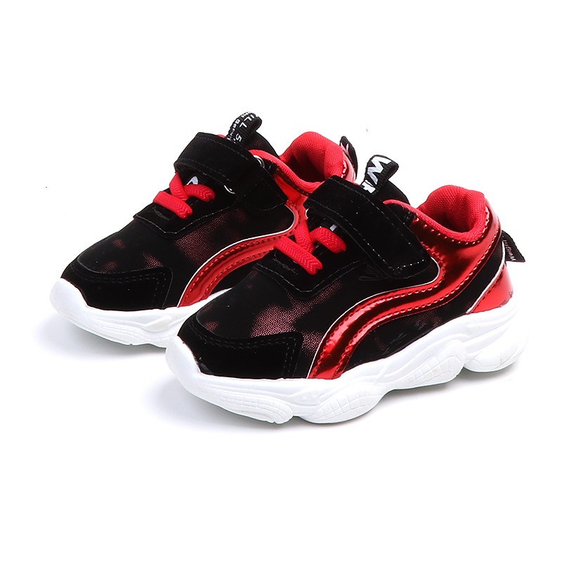 Trainers Boys Sport Shoes Fashion Kids Leather Tennis Shoes Girls 2019 Spring Children Toddler Outdoor Sneakers for Baby Girl