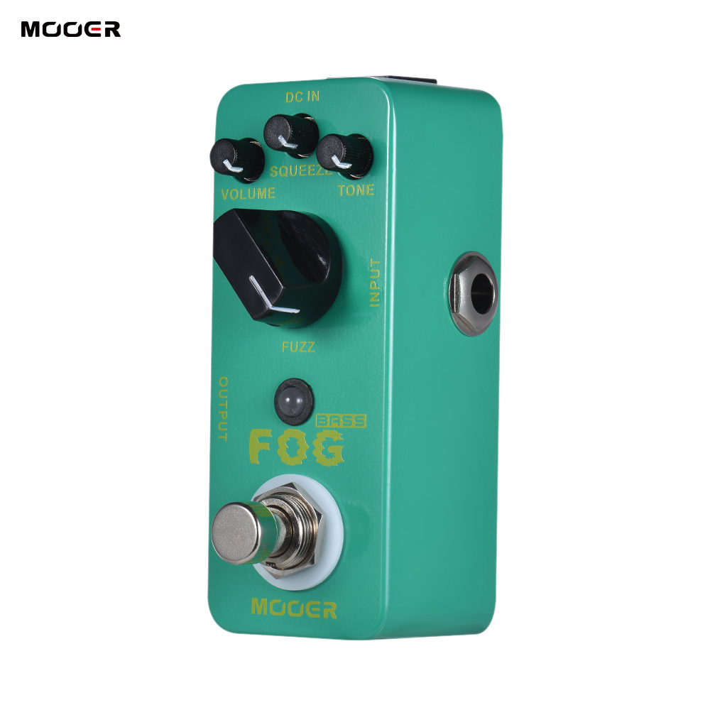 mooer fog bass fuzz guitar effect pedal true bypass electric guitar pedal effect full metal. Black Bedroom Furniture Sets. Home Design Ideas