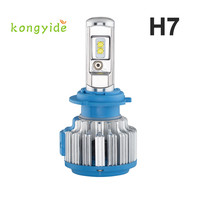 Auto Car Styling Car Styling Led 2pc 70W 7000LM H7 Car LED Headlight B2 Canbus 6000K