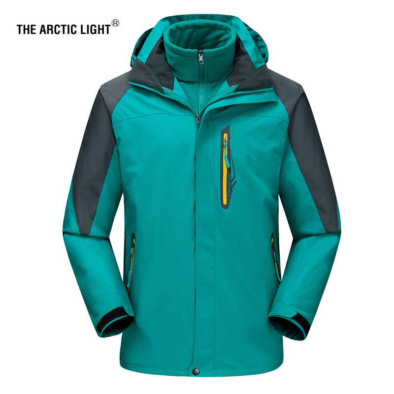 THE ARCTIC LIGHT Winter Ski Jackets Men Outdoor Thermal Waterproof Snowboard Hiking Camping Jackets Climbing Snow Skiing Clothes