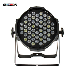 12pcs/lot Aluminum Alloy LED Par 54x3W LED Lighting DMX512 Projector Floodlight Can Wash Dj Stage Light Lighting Projector
