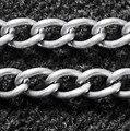 Утюг Twist Цепи, серебряный Цвет, Come On Reel, ссылка: 3x5 мм, 0.8 мм толщиной, 100 м/рулон