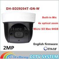 Dahua SD29204T GN W replace SD29204S GN W 2Mp Network Mini IR WIFI PTZ IP WIFI Speed Dome Camera English Firmware Fast Shipping
