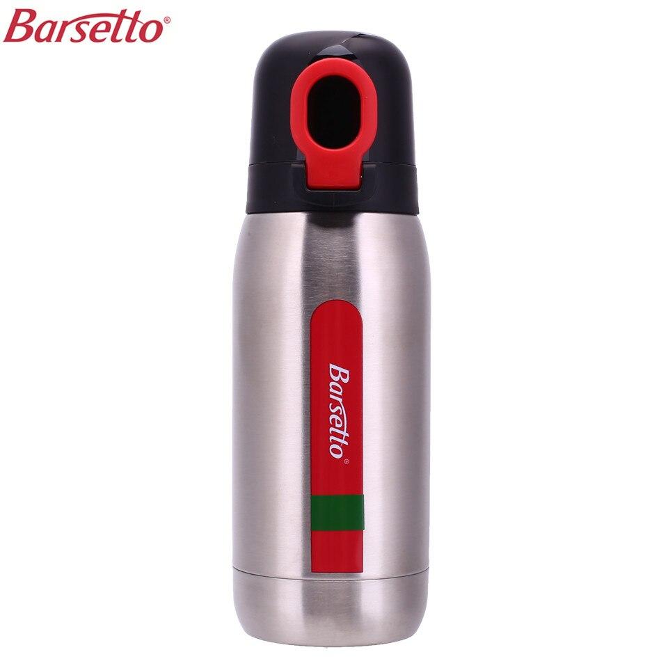 Barsetto BAX335S vacío café taza térmica botella de agua al aire libre de acero inoxidable de doble aislamiento del frío taza para BAH010N BAH400N