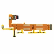 Orignal New Power Button Switch On Off Flex Cable Ribbon Repair Parts For Sony Xperia Z4 Free Shipping