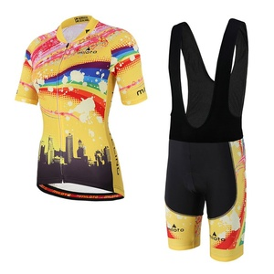 Image 5 - MILOTO Women Cycling Sets Summer cycling jersey set Road Bicycle Jerseys MTB bike Wear Breathable Cycling Clothing велосипед
