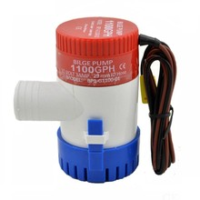 Портативный мини насос для откачки воды, 12 В, 1100 Гал/ч, 12 В постоянного тока