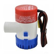 Mini Portable Bilge Pump 12v 1100gph MKBP G1100 12 12VDC Rule Water Pump for Yart Boat Seaplane Motor Homes Houseboat