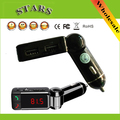 NFC Estéreo Inalámbrico de Llamadas de Coche Transmisor FM USB SD Bluetooth música Manos Libres Aux Reproductor de MP3 5 V/2A 2 USB para el Coche cargador