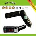 NFC Estéreo Sem Fio Chamando FM Transmissor Do Carro USB SD Do Bluetooth Mãos de música Aux Em MP3 Player 5 V/2A 2 USB carregador de Carro carregador