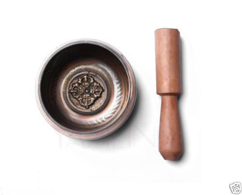 Тибетский латунь Медицина Йога тибетские поющие чаши гималайских руку молотком молоток античный сад серебряные украшения Латунь