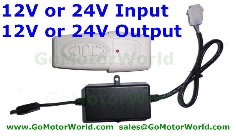 Пульт дистанционного управления/адаптер 12 В или 24 В вход 12 В или 24 В выход для 1 шт. Линейный привод или подъемная колонна