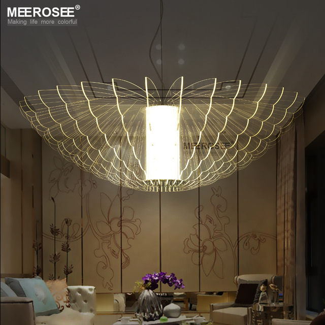 Led new lighting butterfly acrylic pendant light fixture led art led new lighting butterfly acrylic pendant light fixture led art deco hanging lamp for home decoration aloadofball Images