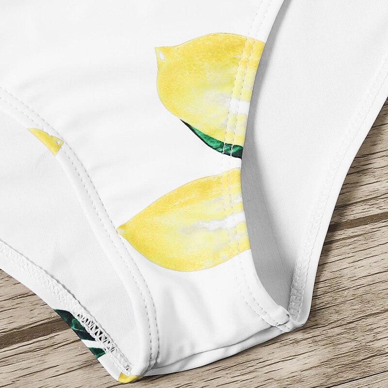 Lemon Print Bikinis 8
