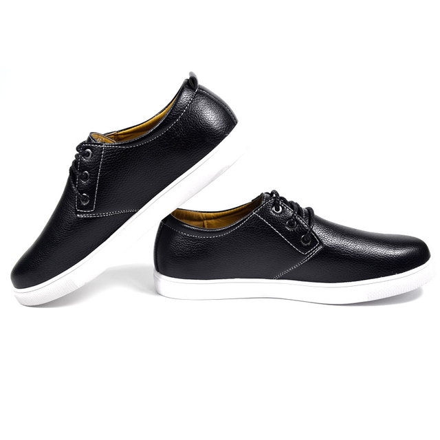 DXKZMCM Men Loafers Leather Casual Shoes Men Flats Oxford Shoes For Men Driving Shoes size 38-49