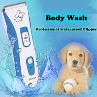 Rechargeable Dog Clippers Professional Pet Grooming Kit Electric Hair Trimmers waterproof Shaver Cutting Haircut Machine