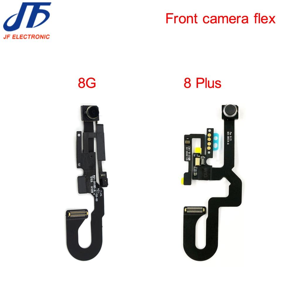 10pcs lot for iPhone 8 8G 4 7 plus 5 5 Front Camera Module Proximity Light