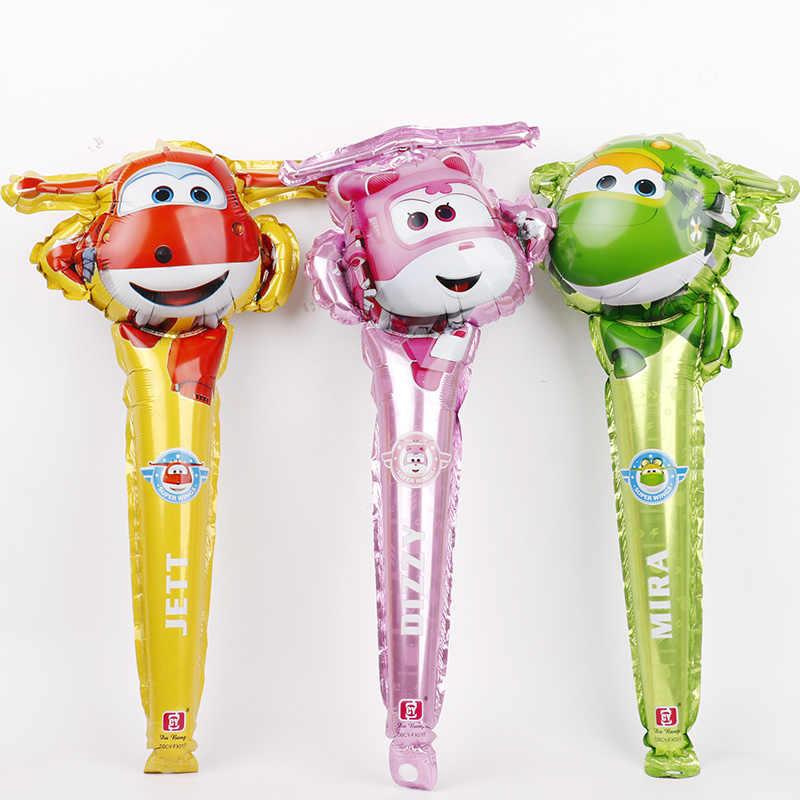 Estilo 8 3D Super Asas Balão Jett 1 pc Super Asas brinquedos balões Decorações Da Festa de Aniversário crianças brinquedos Jett globos suprimentos