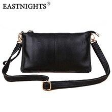 women's Multifunctional bag genuine leather handbag black shoulder bags ladies' fashion day clutches women messenger bags HB022