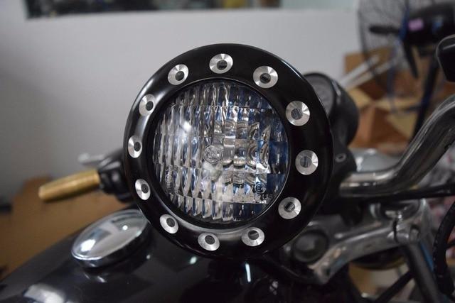 freies verschiffen neue cafe racer motorrad scheinwerfer. Black Bedroom Furniture Sets. Home Design Ideas