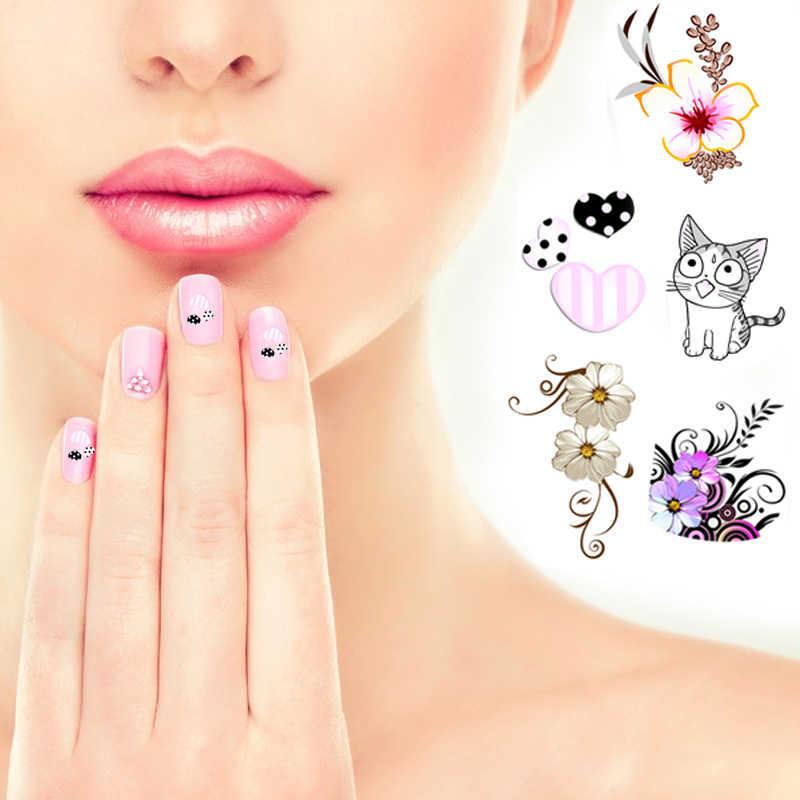 1 шт. женские новые наклейки для ногтей Кот переводная вода слайдер наклейка наклейки для дизайна ногтей советы для декора Etiqueta do prego
