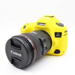 Image 4 - 캐논 EOS 5D4 5D 마크 iv에 대 한 좋은 부드러운 실리콘 고무 카메라 가방 캐논 5D 4 렌즈 펜에 대 한 보호 카메라 바디 커버 케이스 피부