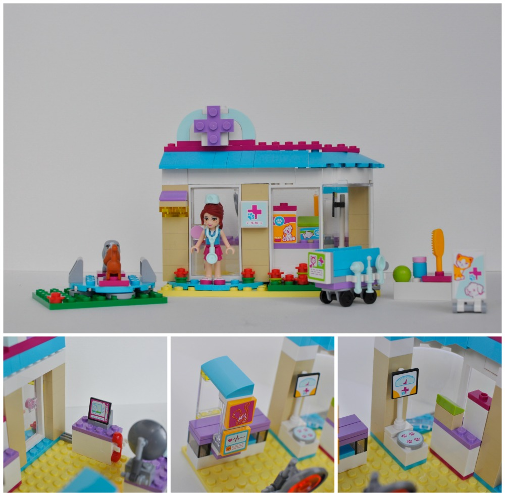 Vet Lego Set For Girls Jerusalem House