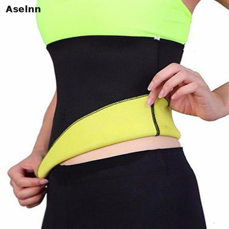 Aselnn 2018 Hot Neoprene Slimming Waist shapers Belt 2018 NEW Body Slimming Cinchers waist corsets bodysuit waist trainer