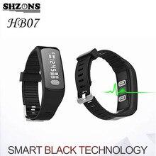 SHZONS активности Фитнес трекер Браслет Приборы для измерения артериального давления шагомер сердечного ритма Мониторы нажмите сообщение Смарт Спорт Bluetooth 4.2