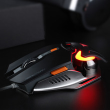Optical Gaming Mouse Mause 7000 DPI Adjustable PC Optical LED Mice Wired USB Games Cable Mouse for Professional Gamer