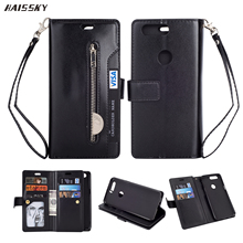 HAISSKY Oneplus 5 T プラス 5t 5 T ケース革財布 10 カードケース高級ヴィンテージ電話フリップカバースタンド保護袋 Coque