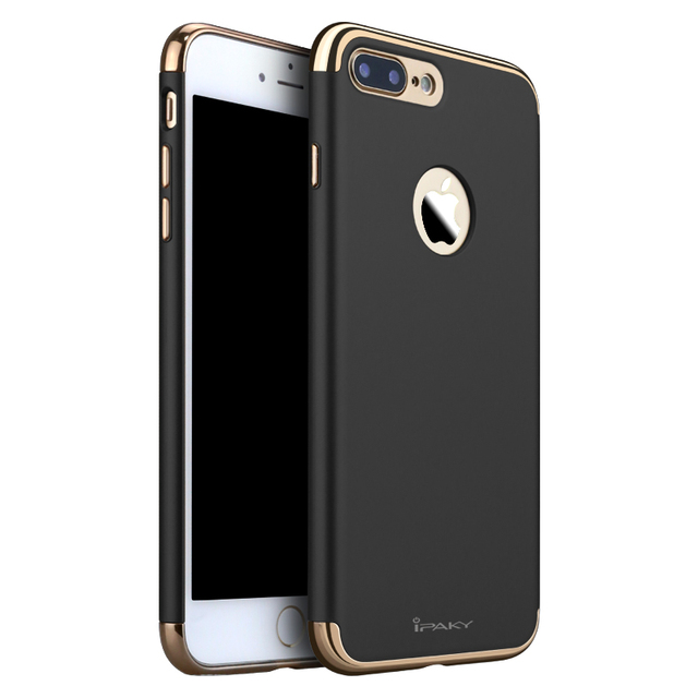 206d55ecb6e for iphone 7 Plus Case Armor Original Luxury Cases for Apple iphone 7 Logo  Hard 3in1 Back Cover Rose Gold Black Accessories