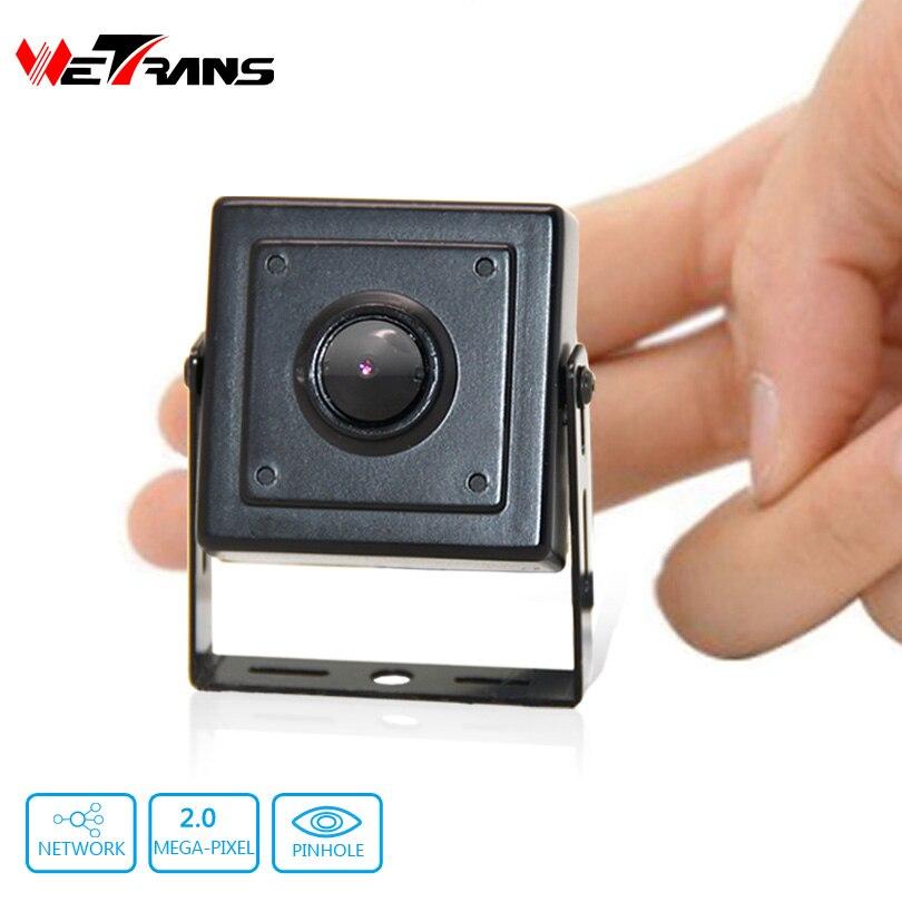 ФОТО Mini IP Camera Starlight SONY Sensor H.264 plug and play 40*40mm Size 1080P 3.7mm Pinhole Lens Full HD Network Mini IP Camera