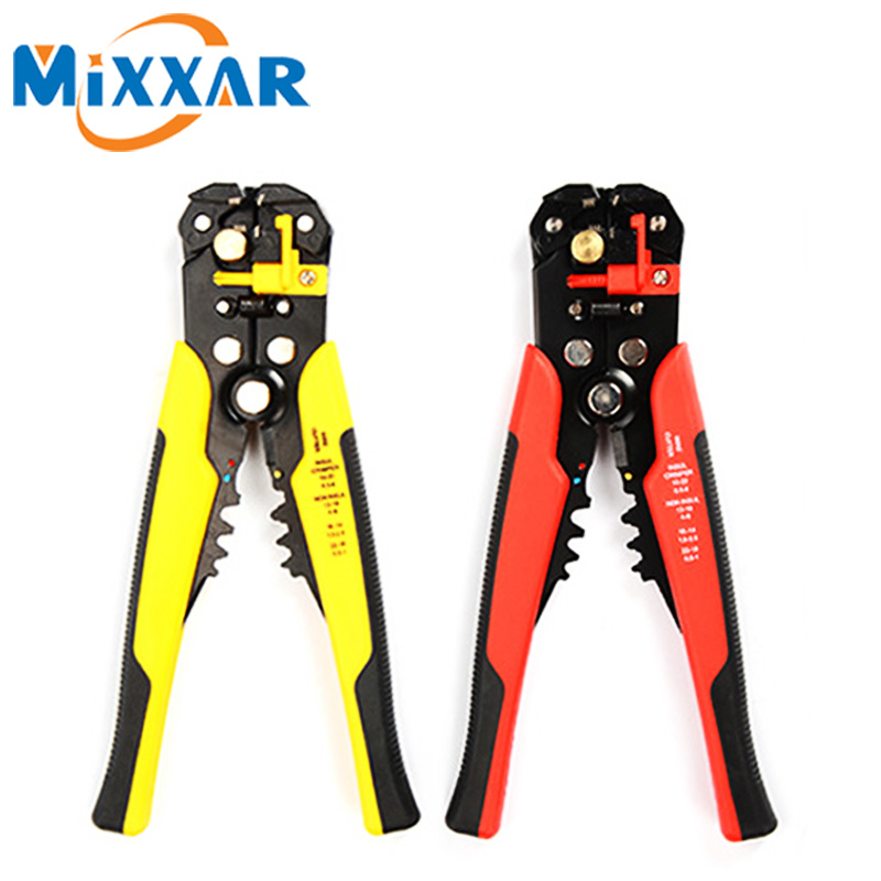Adjustable Cable Wire Stripper Cutter Crimper Terminal Automatic Multifunctional Plier Tools Cutting Hand tools Electrician Tool automatic cable wire stripper plier adjusting crimper terminal tool rasp dremel 2016
