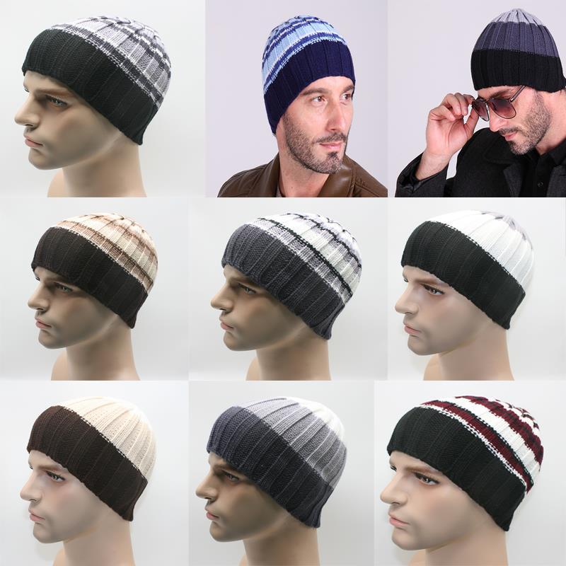 Fashion Winter Hat Warm Men Women knit hats Wool Knited Female Beanies Outdoor Head Cap Touca Feminina от Aliexpress INT