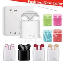I7mini Bluetooth Earphones Portable Wireless mini Headphones With Charging Box mini bluetooth