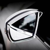 Für Ford Kuga 2017 2 stücke ABS Chrom Auto Rück Seite Spiegel Regen Getriebe Augenbraue Schutz Abdeckung Trimmt Auto Styling zubehör Chrom-Styling Kraftfahrzeuge und Motorräder -