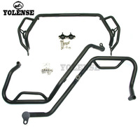 For HONDA X ADV 750 XADV750 X ADV750 XADV Upper + Lower Engine Guard Bumper Highway/Freeway Crash Bar Buffer Fuel Tank Protector